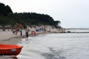 Plaża w Wiciu